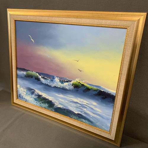 Seascape Painting by Roy Lang image-5