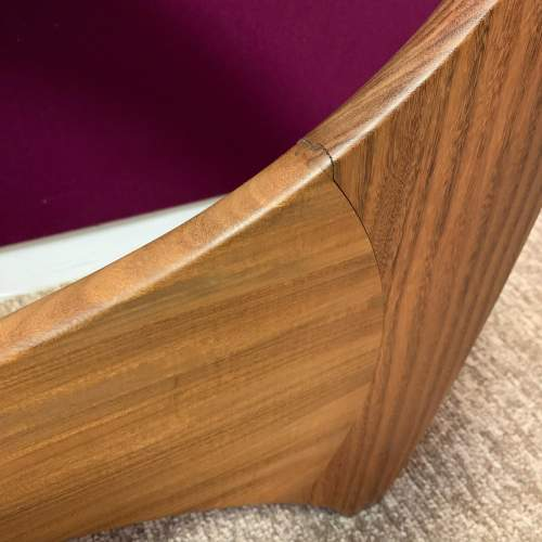 G Plan Astro Oval Teak and Glass Coffee Table image-6