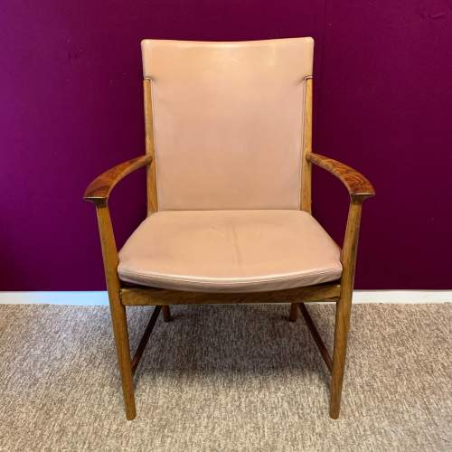 20th Century Retro Rosewood Armchair image-1