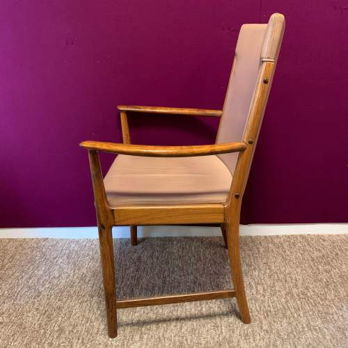 20th Century Retro Rosewood Armchair image-4