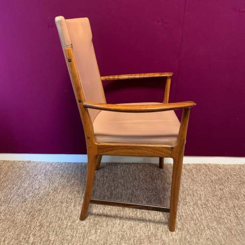 20th Century Retro Rosewood Armchair image-5
