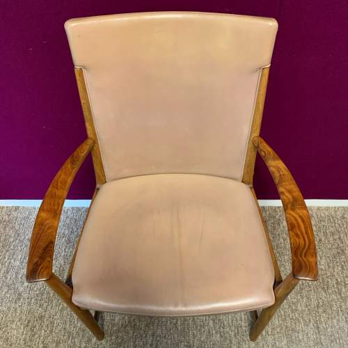 20th Century Retro Rosewood Armchair image-6