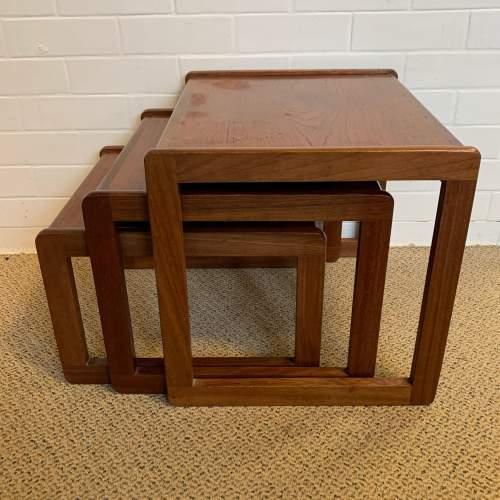 G Plan Teak Nest of Tables image-1