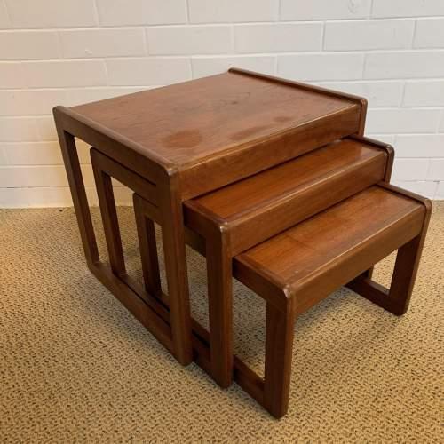 G Plan Teak Nest of Tables image-6