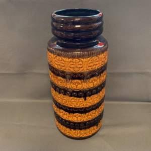 Large German Retro Floor Vase