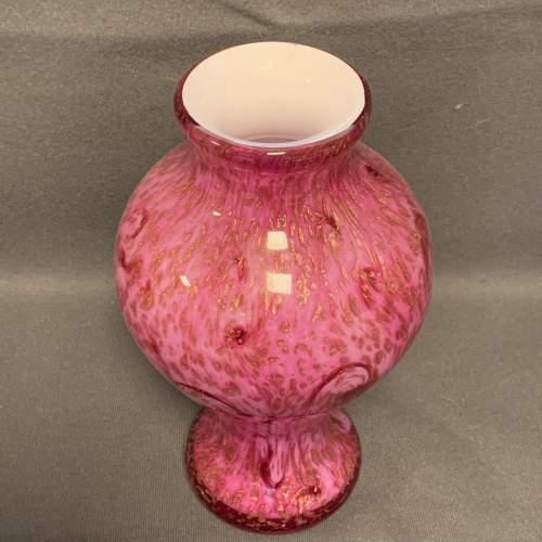 Signed Toffolo Studio Glass Vase image-2