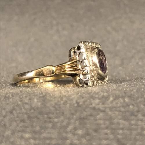 Vintage Gold Amethyst Ring image-3
