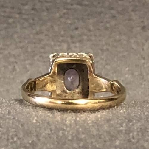 Vintage Gold Amethyst Ring image-5
