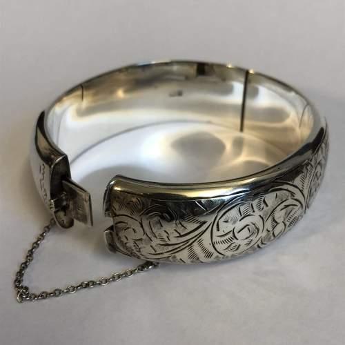 Vintage Silver Bangle image-2