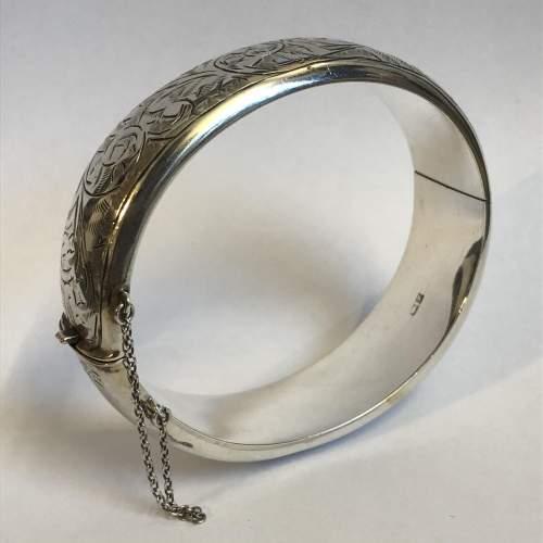 Vintage Silver Bangle image-5