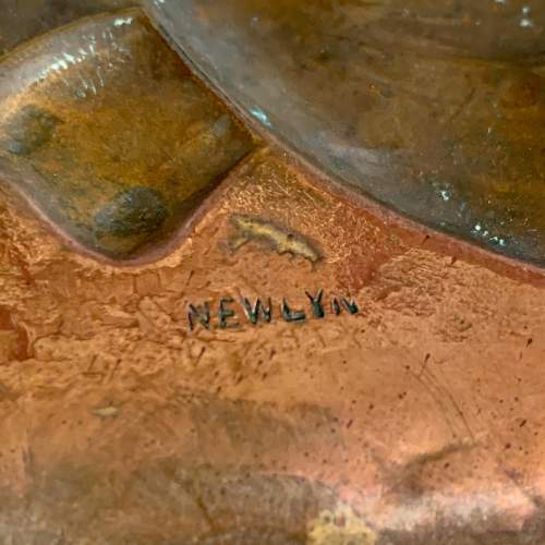 Newlyn Arts and Crafts Copper Fish Tray image-6