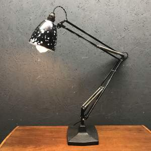 Early Herbert Terry 1209 Anglepoise Lamp with Original Paint