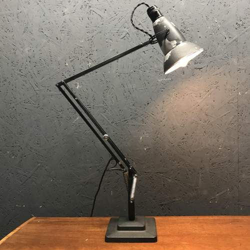 Early Herbert Terry 1227 Anglepoise Lamp with Perforated Shade image-1