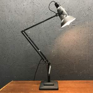 Early Herbert Terry 1227 Anglepoise Lamp with Perforated Shade