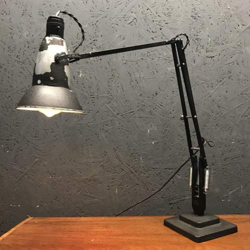Early Herbert Terry 1227 Anglepoise Lamp with Perforated Shade image-6