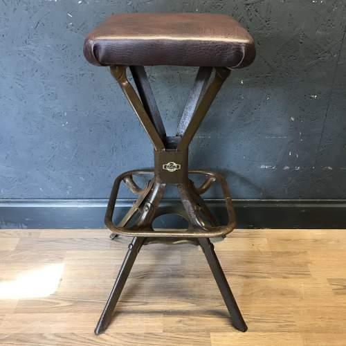 Vintage Evertaut Engineers or Machinist Stool image-1