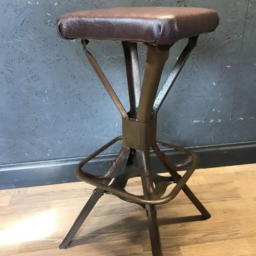 Vintage Evertaut Engineers or Machinist Stool image-6