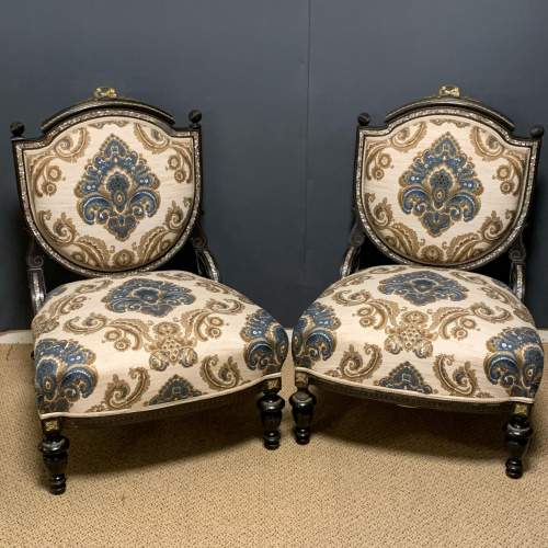 French Drawing Room Suite with Two Chairs and Sofa image-4