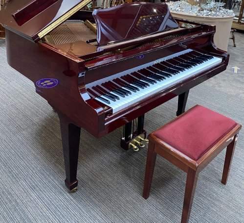 Samick Dark Walnut Baby Grand Piano image-1