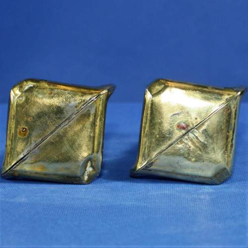 Pair of Arts and Crafts Brass Spill Vases image-5