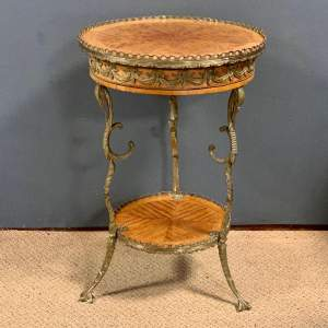 19th Century Small French Gueridon Table