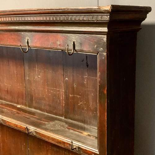 18th Century Oak Dresser and Rack image-2