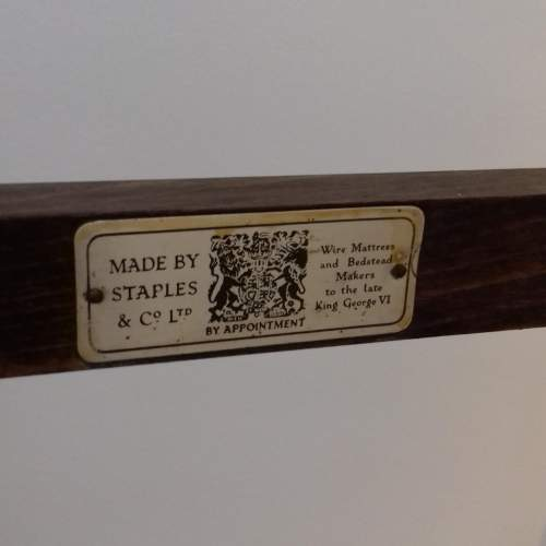 Mid 20th Century Oak Tea Trolley image-6