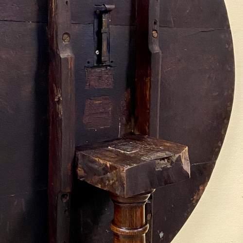 George II Oak Tripod Table image-5