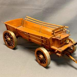 20th Century Scratch Built Haycart Scale Model