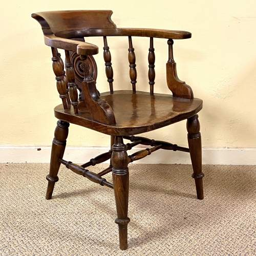 Fine Quality Early 19th Century Captains Chair image-1