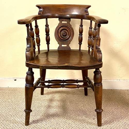 Fine Quality Early 19th Century Captains Chair image-2
