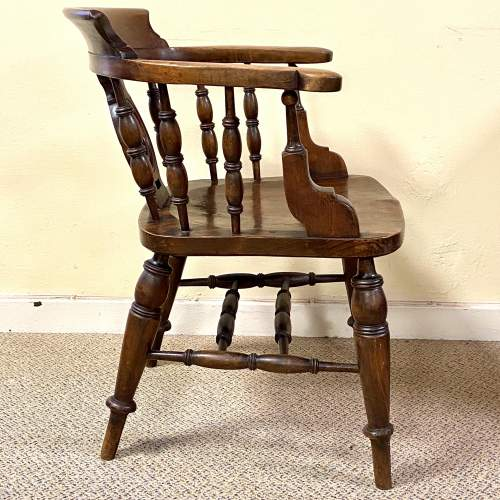 Fine Quality Early 19th Century Captains Chair image-3