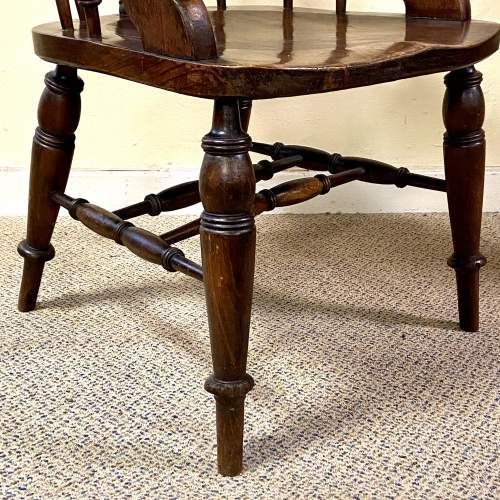 Fine Quality Early 19th Century Captains Chair image-5