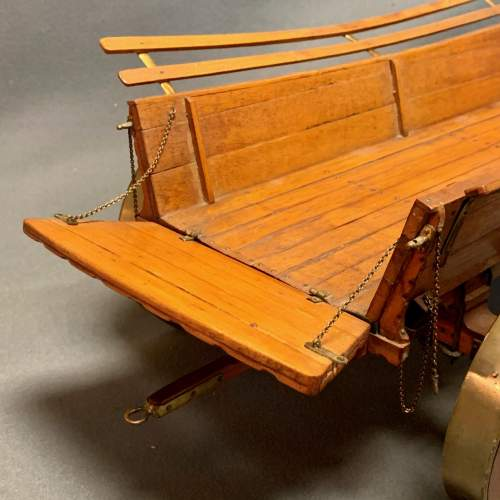 20th Century Scratch Built Haycart Scale Model image-6