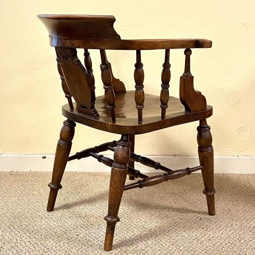 Fine Quality Early 19th Century Captains Chair image-4