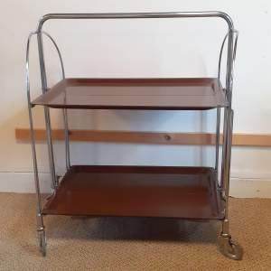 Mid Century Bauhaus Trolley made by Gerlinol Bremshey