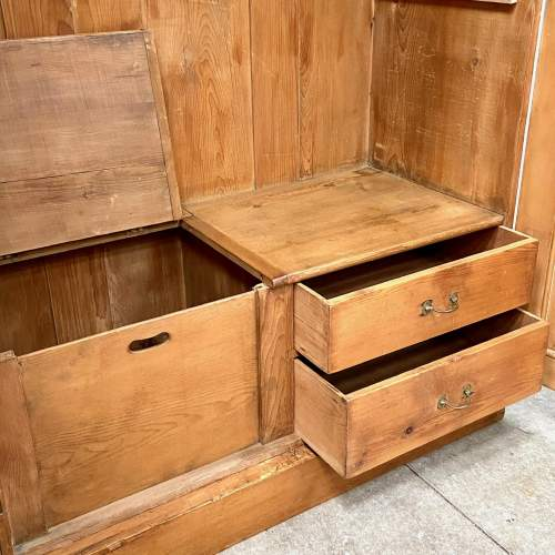 19th Century Pine Larder Cupboard or Wardrobe image-5