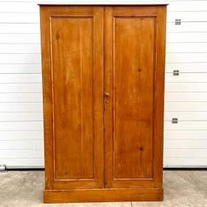 19th Century Pine Larder Cupboard or Wardrobe
