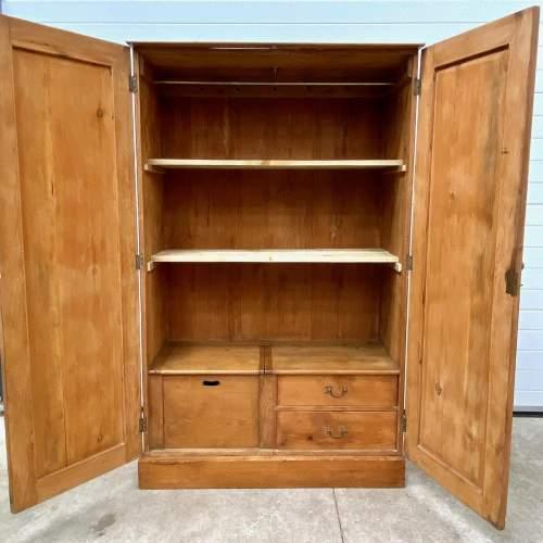 19th Century Pine Larder Cupboard or Wardrobe image-3