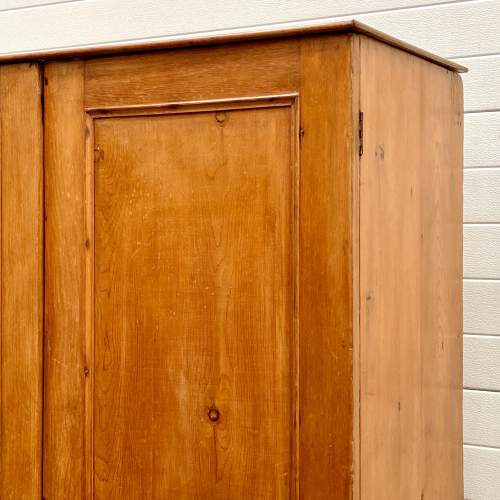 19th Century Pine Larder Cupboard or Wardrobe image-4