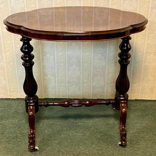 Small 19th Century Rosewood Occasional Table image-1