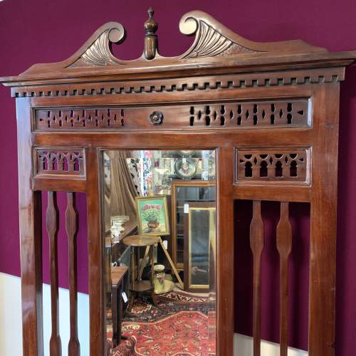 Late Victorian Mahogany Hall Stand image-2