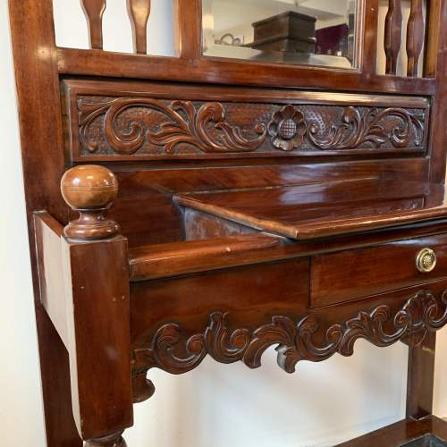 Late Victorian Mahogany Hall Stand image-3