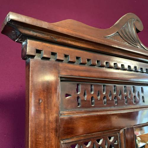 Late Victorian Mahogany Hall Stand image-4