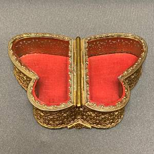 18th Century Butterfly Casket