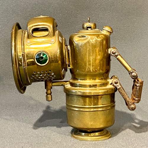 Powell and Hammer Carbide Brass Cycle Lamp image-3