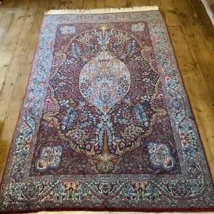 Stunning Hand Knotted Rug Lahore Beautiful Detail And Colours