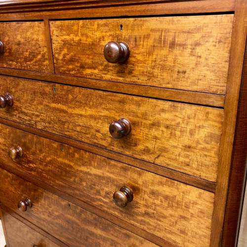 Good Quality Mahogany Chest Of Drawers By Maple and Co image-2