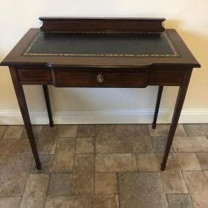 Edwardian Mahogany Writing Table