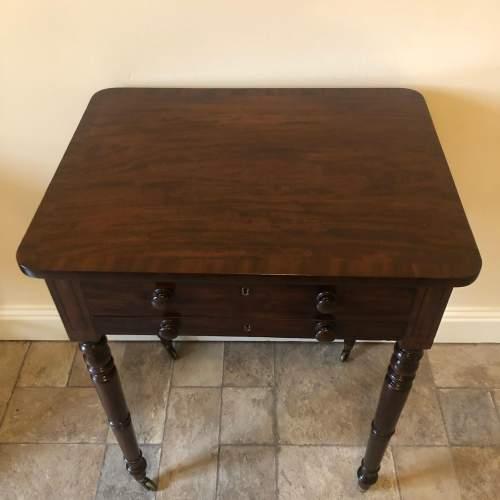 Regency Mahogany Lamp Table image-2